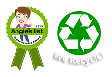 Angies List Recycle Badge